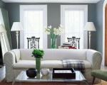 Modern & clean interior with beautiful Benjamin Moore paint selection