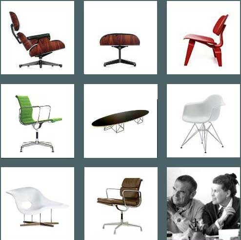 charles ray eames iconic american designers sabor magazine. Black Bedroom Furniture Sets. Home Design Ideas