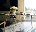 Eames wire chair in design space