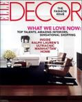 ELLE DECOR - A fave decor magazine