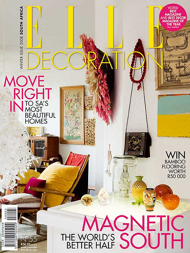 elle decoration magazine sabor magazine. Black Bedroom Furniture Sets. Home Design Ideas