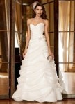 Galina Signature Organza bridal dress
