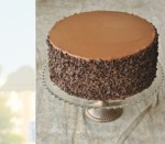 Groom Chocolate Cake