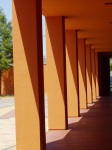 Color Inspiration - the Latin American Museum exterior paint color