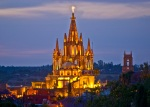 San Miguel de Allende, GTO Mexico - Cathedral @ night