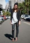 Australia Street Style: Model Myf Shepard