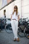 Berlin Street Style: Rolled up sleeves