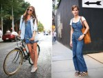 Street Style: Denim looks