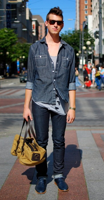 Street Style: Men have great style too! :)