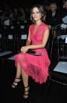 Rachel Bilson at the Christian Dior Spring 2011 show