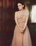 Rachel Bilson wearing a Valentino gown