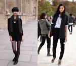 Street Style: Models Tao Okamoto & Liu Wen