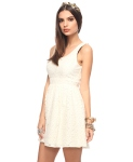 Raschel Knit Lace Dress $24.80 @ Forever21
