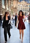 Giovanna Battaglia: Wearing a dress by Azzedine Alaïa