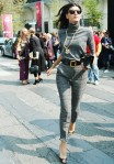 Giovanna Battaglia: I love the gold accents against gray