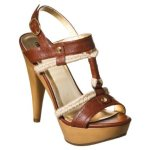 30Mossimo Posie Rope Heeled Sandals Cognac $26.99 @ Target