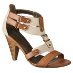 31Mossimo Paz Strappy Heeled Sandals Natural$22.00 @ Target
