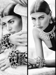 Giovanna Battaglia in Eddie Borgo's Spring 2011 lookbook