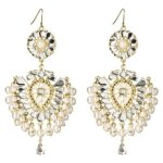 58Pearl and Crystal Drop Earring - Goldtone  $14.99 @ Target
