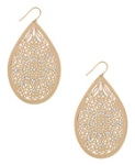 64Cutout Jeweled Pendant Earrings $2.80 @ Forever 21