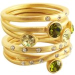 76 5pc Matte Stack Rings  Canary Peridot  $19.99 @ Target