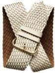 86Wide woven leather belt   Regular Price $69.50 @ Banana Republic