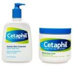 Cetaphil Cleanser & Moisturizing Cream