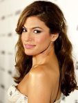 Put your hair to the side like Eva Mendes