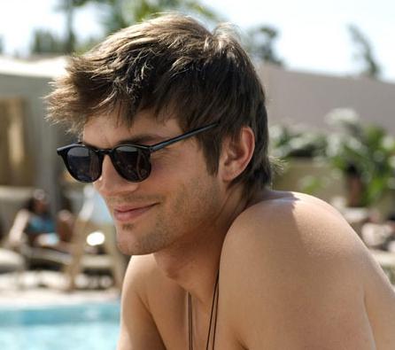 57460dbeb2f2 Ashton Kutcher wearing Tom Ford Sunglasses